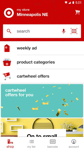 Target - now with Cartwheel Screenshot