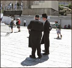 Photo: Иерусалим. Ортодоксальные евреи.