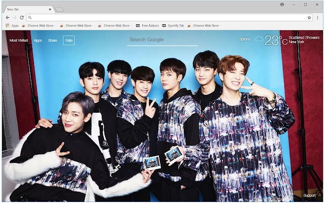 Got7 Wallpaper Hd New Tab Themes