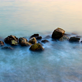 by Alex Chia - Abstract Fine Art ( abstract, water, fine art, sea, effects, rocks )