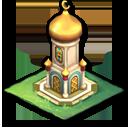 宮殿の時計台(インド)