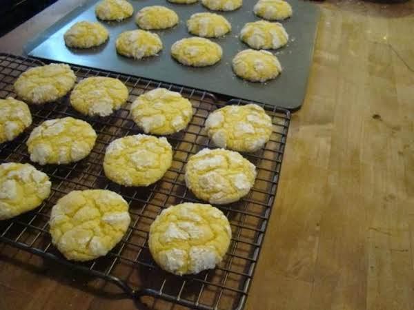 Lemon Chewy Cookies