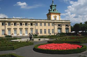Photo: Warszawa, Wilanow, park i ogrod, 08/2006 fot. Robert Gutowski Palac