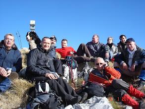 Photo: odmor na vrhu Viševice nakon uređenja staze za pohod