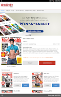 Screenshot of Men's Health India