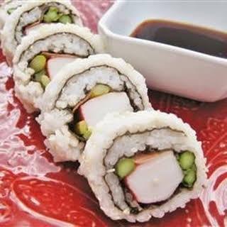 California Roll Sushi.