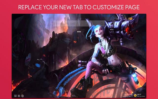 League Of Legends Live Wallpaper HD New Tab