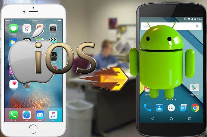 Passare da iPhone ad Android: 5 Motivi per preferire il robottino verde
