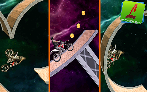 Space Bike Stunts 3D 2018 - náhled