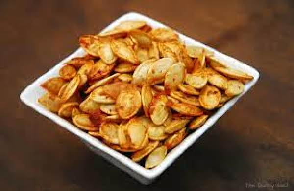 Mommy And Charli's Famous Roasted Pumpkin Seeds Recipe