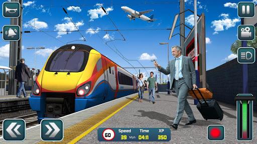 Euro Train Driver Sim 2020: 3D Train Station Games 1.4 screenshots 8