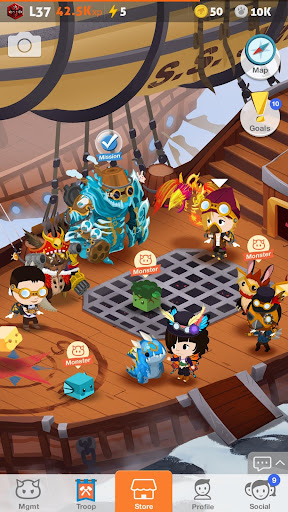 Battle Camp - Monster Catching screenshot 7