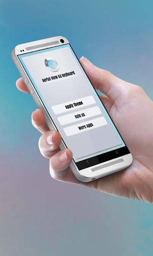無料个人化Appの空中写真 GO Keyboard|記事Game