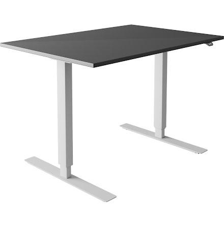 Skrivbord el grå 1600x800