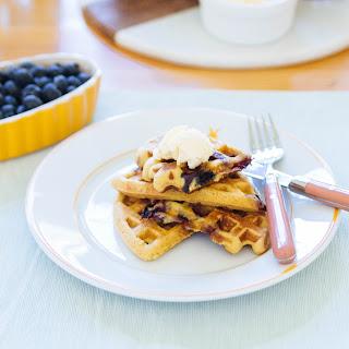Grain-free Blueberry Blender Waffles
