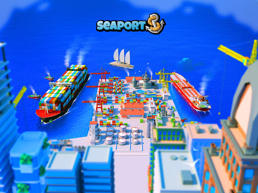 Sea Port: Cargo Ship & Town Build Tycoon Strategy filehippodl screenshot 16