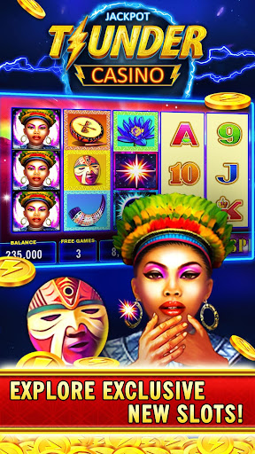 Thunder Jackpot Slots Casino - Free Slot Games screenshots 13