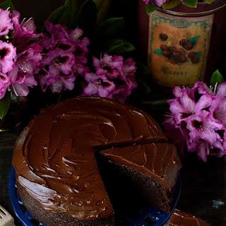 Chocolate Stout Cake With Stout Ganache (Guinness Chocolate Cake)