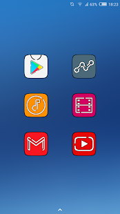MiUX HD - MIUI + S8 UX ICON PACK - náhled