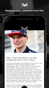 Max Verstappen Official App- screenshot thumbnail