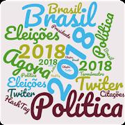 #Eleições2018 - Nuvem de Palavras