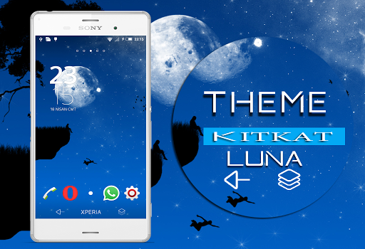 Theme Xperien Luna KK+