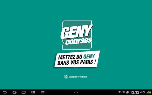 GENY courses - Le journal- screenshot thumbnail