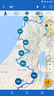 Israel National Trail - náhled