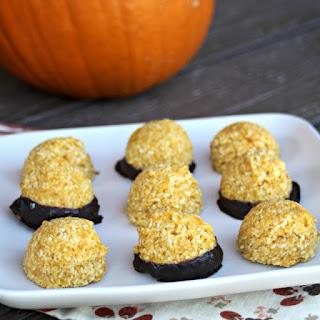 Pumpkin Coconut Macaroons.