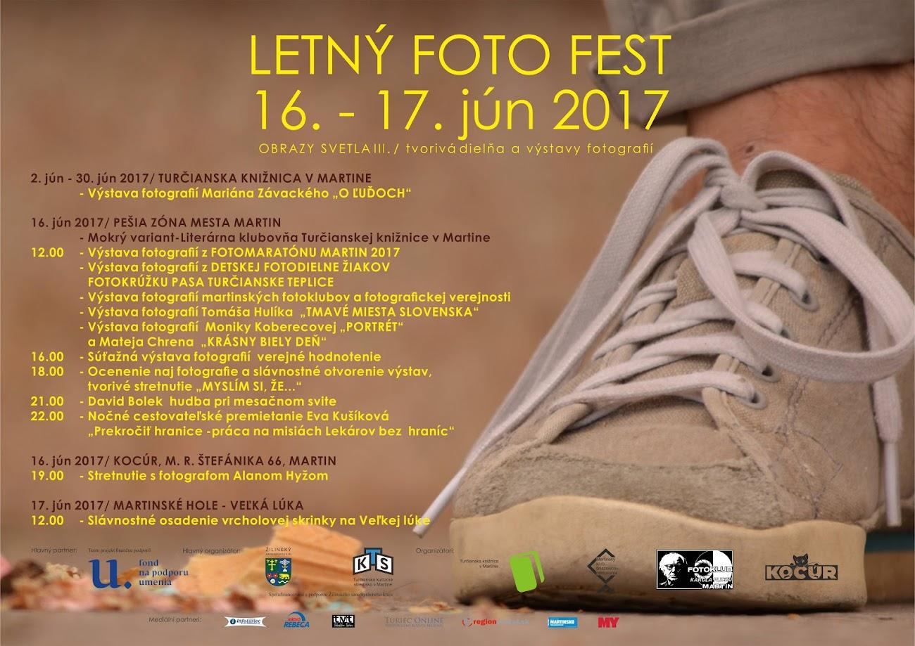 Plagát Letný foto fest 2017