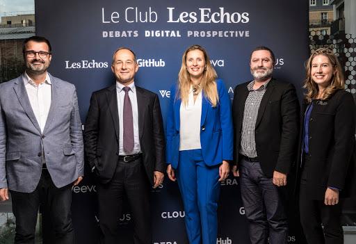 Club Les Echos Digital avec Frédéric Oudéa et Claire Calmejane - GitHub