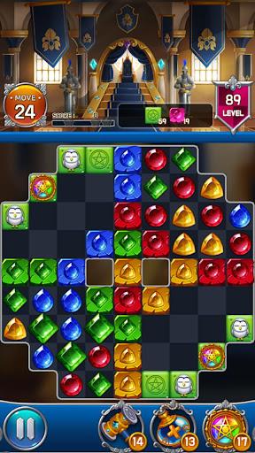 Jewel Royal Castle: Match3 puzzle apkpoly screenshots 1