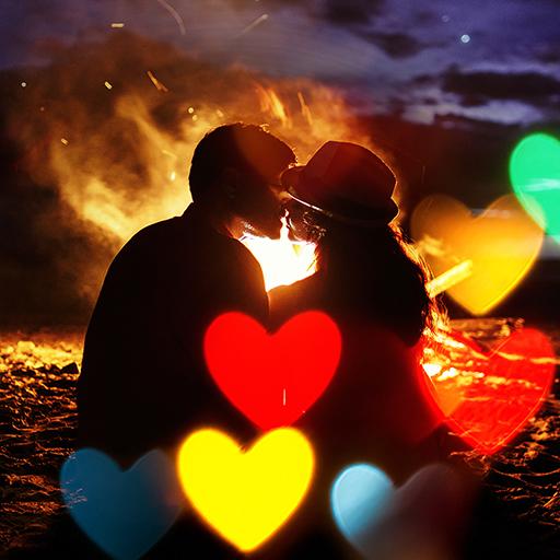Heart Photo Effects Maker App Icon
