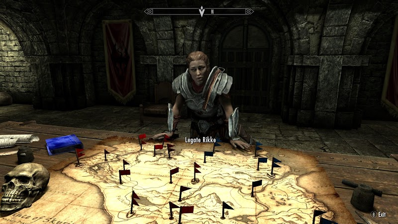 Legate Rikke from Skyrim
