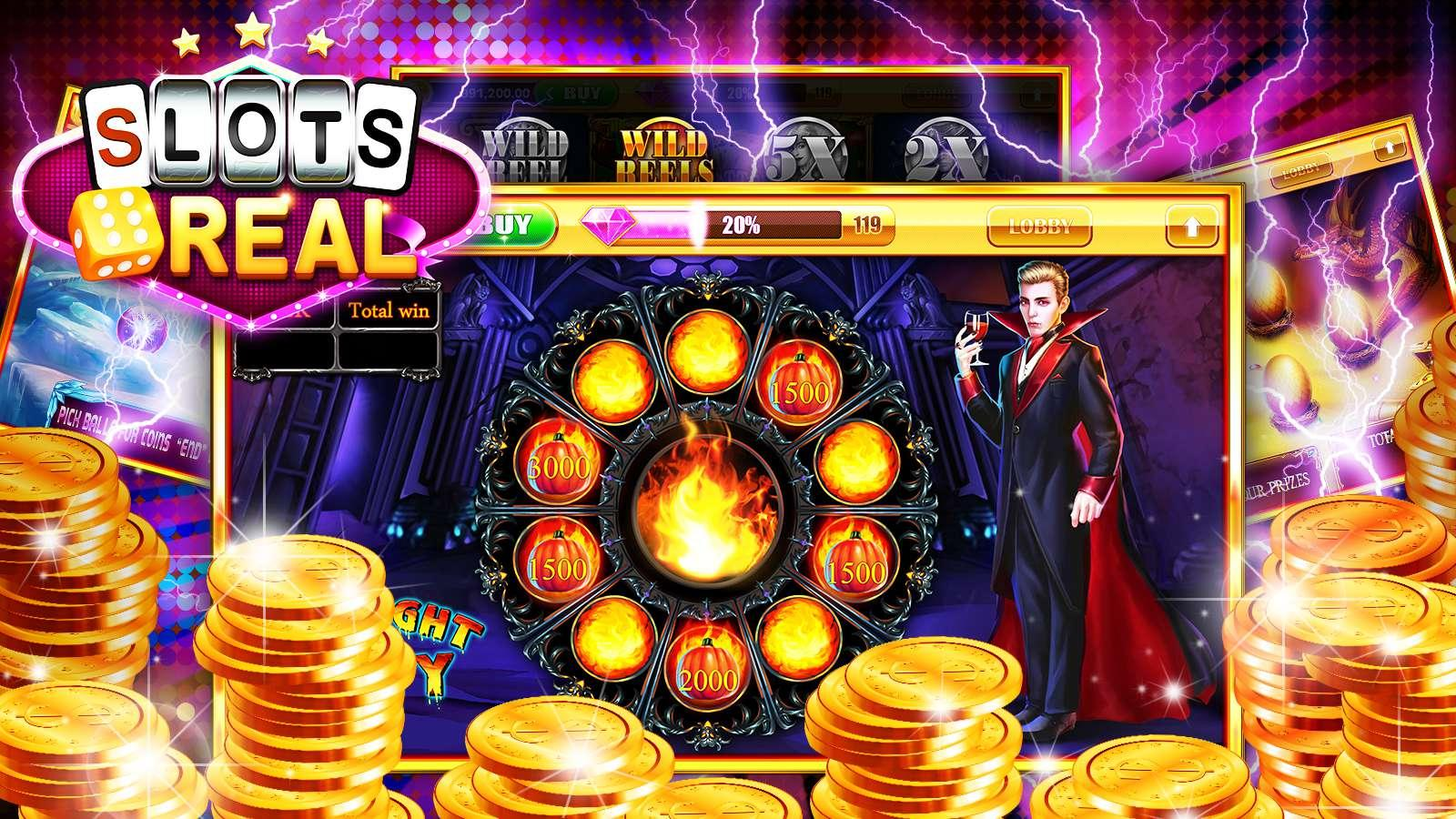 real slot games online  android