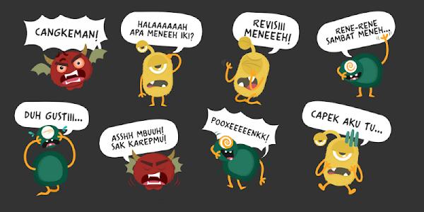 Download Sambat NKSTHI - WhatsApp Stickers APK latest