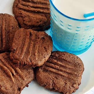Vegan Chocolate Fork Cookies.