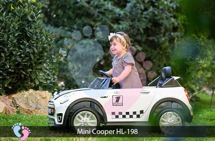 Xe oto điện trẻ em Mini Cooper HL-198 3