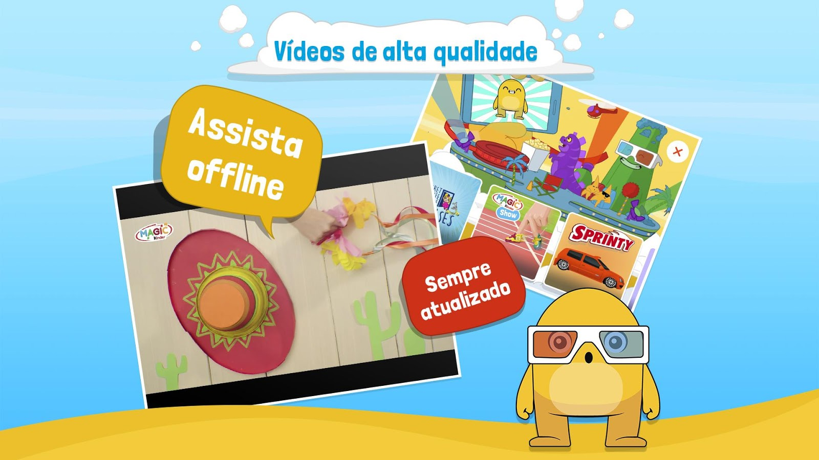 Magic Kinder App Oficial - Jogos Educativos: captura de tela