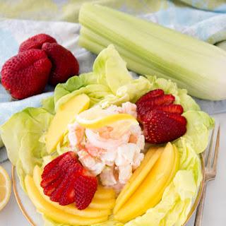 Simple Lemony Shrimp Salad.