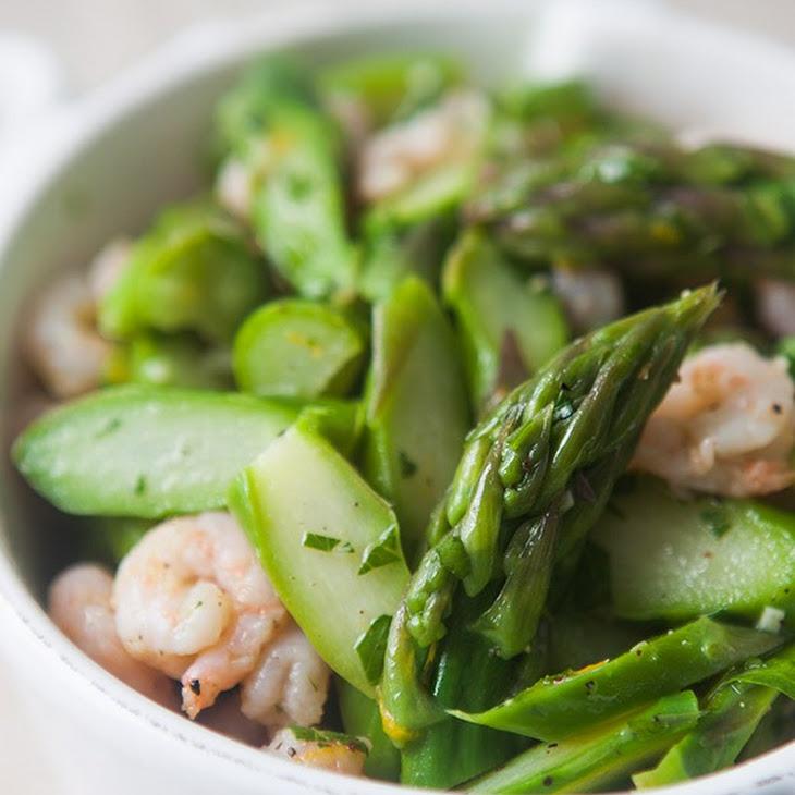Asparagus Salad with Shrimp
