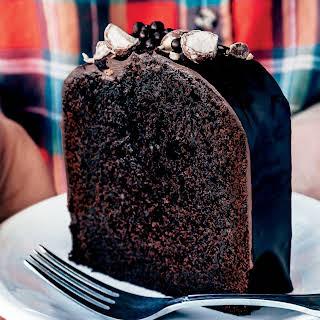 Malted Chocolate Cake.