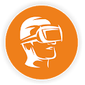 VR Lively virtual reality icon