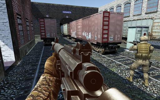 Code Triche Rage cible bataille: Gratuit Sniper Jeux Counter APK MOD screenshots 2