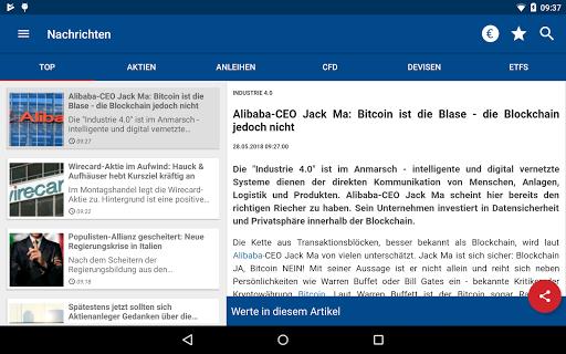 Börse & Aktien - finanzen.net  screenshots 16