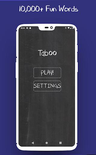 Taboo - Fun screenshot 1