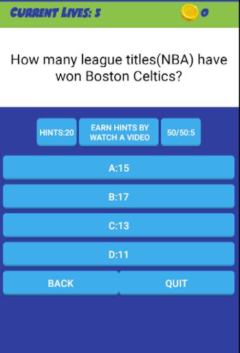 QUIZ FOR NBA  2018 1.8 screenshots 2
