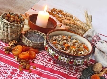 Russian Wheat Porridge ~ Kutya Recipe