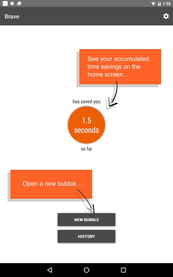 Link Bubble- screenshot