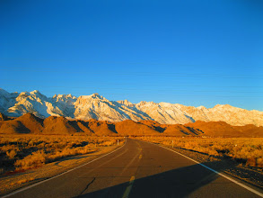 Photo: Driving towards Death Valley
